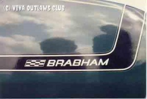 Genuine Brabham stripes