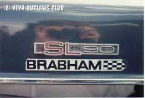 Genuine Brabham badge