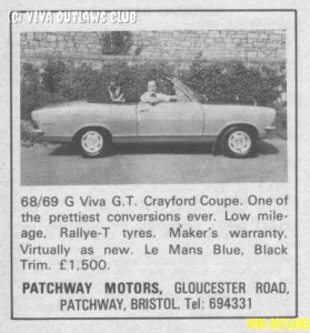 For Sale September 1969
