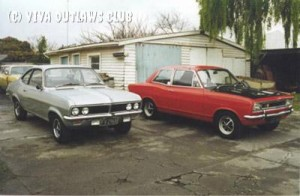 Other Vivas 34 - Terry in NZ's GT and Firenza
