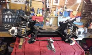 Ian's GT 4 - Front crossmember rebuilt